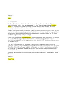 Essential Business Sample Letter 2 Lake Superior Community Partnership
